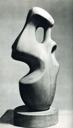 Composition, sculpture by Henry Moore, 1932 copy