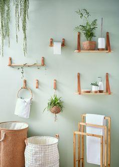 Pour décorer ou pour leur praticité, les accessoires changent et embellissent votre salle de bains ! #leroymerlin #interiorinspiration #bathroom #homedesin #madecoamoi
