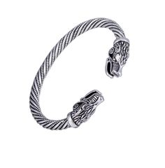 Wolf Viking Bracelet