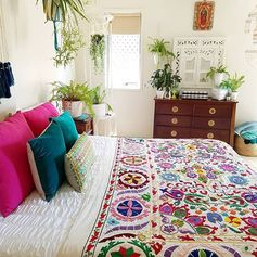 Impressive 32 Popular Bohemian Bedroom Decor Ideas