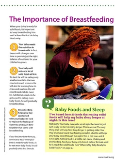 The Importance of Breastfeeding provided by National WIC Association