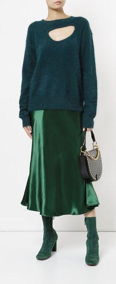 CHRISTOPHER ESBER bias cut slip skirt, explore new season partywear on Farfetch now.