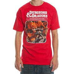 Dungeons and Dragons Third Edition T-Shirt Bioworld