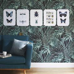 Papier peint intissé Feuillage vert #leroymerlin #tendance #eden #papierpeint #wallpaper #poster #ideedeco #madecoamoi