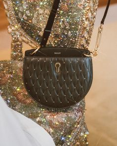 Glitter and quilted studs, the Cecyle bag becomes the subject of artist Sara Shakeel 's new artwork.