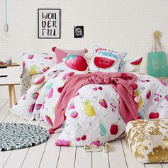 Fruit Crush Quilt Cover Set