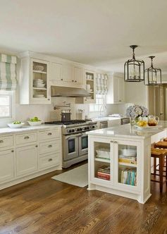 Traditional Kitchen. K. Lewis Interior Design via House of Turquoise