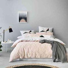 Déco chambre gris et rose pour un intérieur élégant