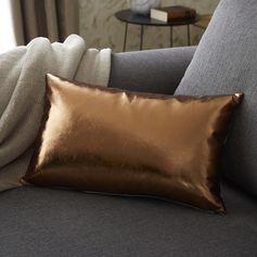 Coussin Oro copper, or l.50 x H.30 cm. #leroymerlin #coussin #tendance #chic #salon #chambre