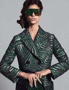 Fendi spotted in Vogue Arabia.