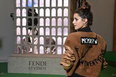 Benedetta Porcaroli @ Fendi Studios
