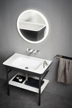 Catalogue Lavabo Avec Console Novecento XL - Agape | Designbest