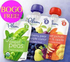 Plum Organics: New BOGO FREE Product Coupon (up to $1.99)
