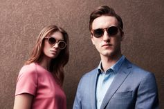 Modern style for him and for her in the new #LookAhead BOSS eyewear campaign