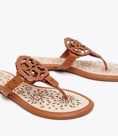 Tory Burch Miller Scallop Sandal