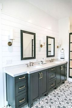 Looking for ideas to transform your small bathroom? Find the perfect small bathroom remodeling idea for your home online at This Old House  #interiorbathroomtrends #designideas #smallbathroomideas #smallbathroomremodel #smallbathroom Most Popular Small Bathroom Remodel Ideas on a Budget in 2018