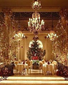 Christmas tea at the London Ritz