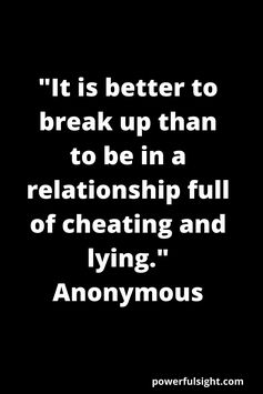 Break Up Quotes to get over a break up