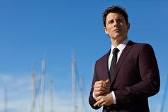 Actor James Marsden in our new #OwnYourJourney campaign, wearing Stretch Tailoring for on-the-move comfort