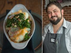 LOCKELAND TABLE'S SHEPHERD'S PIE RESTAURANT PARTNERS HAL HOLDEN-BACHE AND CARA GRAHAM SHARE RECIPES FROM THEIR NEW COOKBOOK.
