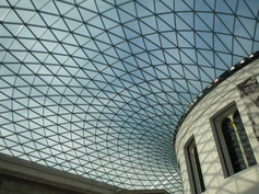 #spacesandpaces ... amazing roof at the british museum!