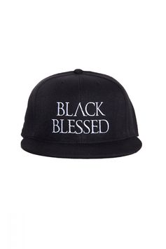 Blackblessed Snapback BLACKBLESSED  @Black Blessed #black #white #fashion #minimal #basic #elegant #designer #urban #urbanchic #dresses #pants #tshirt #top #leggings #white #simple #simplicity