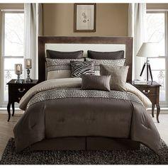 Vcny Mali 9-piece Cal-King Size Comforter Set