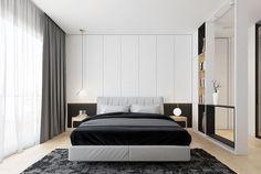 ▷ Décorer une chambre en noir et blanc très élégant