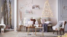 Idée déco salon - Déclic Noël Nordique