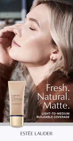 Keep skin fresh, comfortable and shine-free with Estée Lauder Double Wear Light. This new life-proof formula is workout-, sweat-, humidity-, weather- and water-resistant for 24-hour, non-stop wear.
