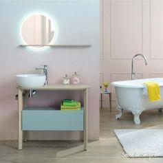 Couleur de salle de bain : la palette des pastels