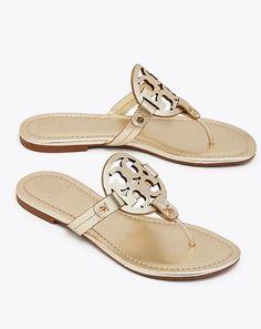 Tory Burch Miller Metallic Sandal