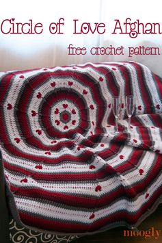 Free Pattern: Circle of Love Afghan