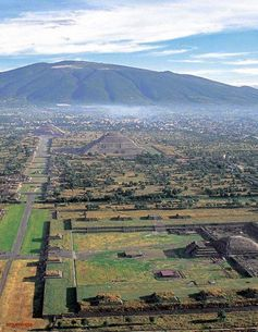 THE ANCIENT CITADEL OF TEOTIHUACAN, BUILT BY GIANTS THAT CAME FROM 'ABOVE'