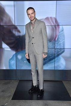 Liam Payne at the Fendi Men's Fall/Winter 2018-19 Fashion Show