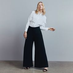 Classically cool - tailored separates with a playful edge update office or eveningwear.