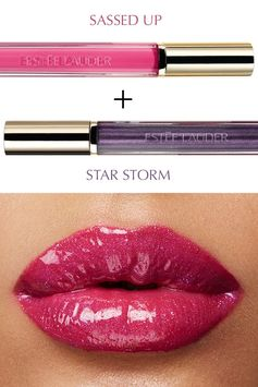 Layer on color and shine with Pure Color Love in Sassed Up and Star Storm.