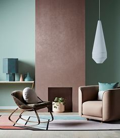 New Dulux paint effects include concrete, steel and copper - The Interiors Addict