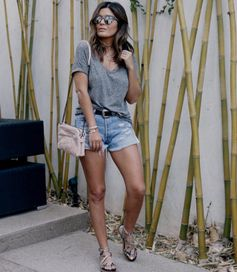 Amazing summer outfit from Style MBA featuring our pink Santorini Flower Bag