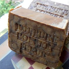 100% Coffee Scrub Soap ...Brazilian <3...