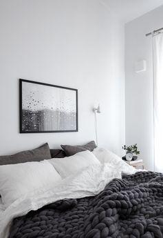 Натуральность превыше всего: 27 спален с льняным постельным бельём – Вдохновение