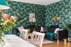 Le retour du papier-peint tropical - PLANETE DECO a homes world