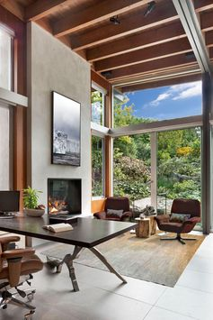 Art And Views Were Carefully Considered In The Design Of This Canadian House