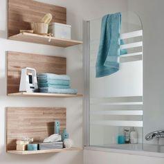 Une salle de bains naturelle