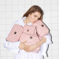 The #StellaStar bag in blush pink - why have one when you can have four!