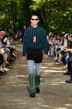 Balenciaga Men Spring Summer 18  Look 10