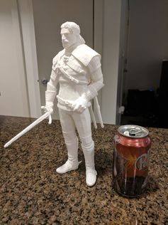 Geralt of Rivia by jeremy.r5 #prusai3 #toysandgames