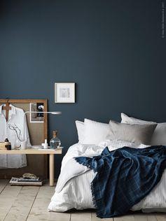 Setz Akzente In Deinem Schlafzimmer   Etwa Mit Einer Decke Passend Zur  Neuen Wandfarbe. Mehr Ideen Findest Du In Unserer Online Galerie.