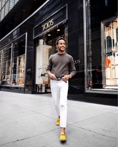 "Motian Kari: ""Customizing my new Tod's loafers at their flagship store in NYC"" Create yours at tods.com! #MyGommino #TodsGommino #Tods #MotianKari"