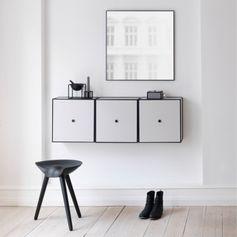 By Lassen Frame 49 laatikko, mustaksi petsattu saarni | Säilytys | Sisustus | Finnish Design Shop